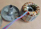 EMAT Prematanje Elektromotora ventilatora